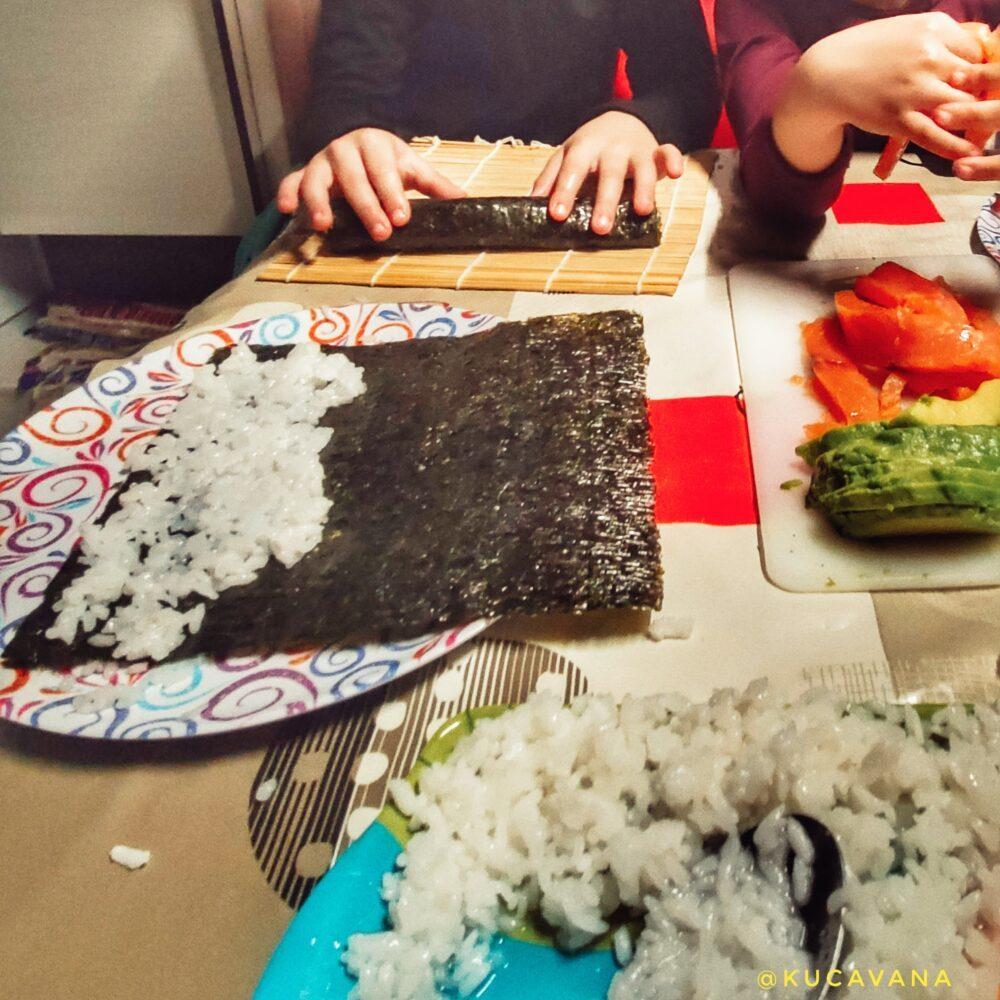 receta mejor sushi casero