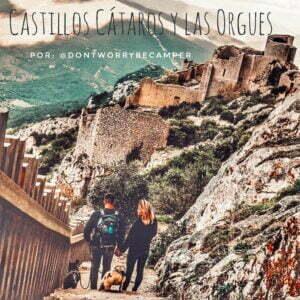 Ruta por los Castillos Cataros y las Orgues por el sud de Francia en autocaravana o furgo por @dontworrybecamper