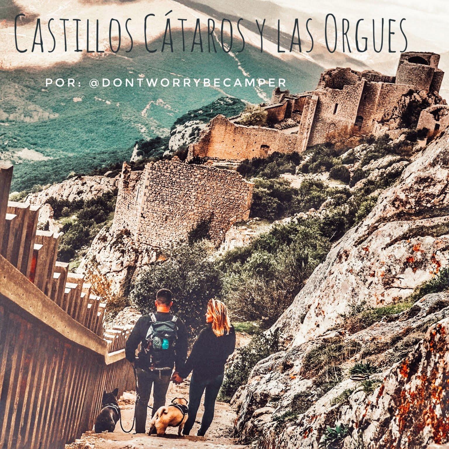 Traversée des Châteaux Cathares et des Orgues dans le sud de la France en camping-car ou en van par @dontworrybecamper