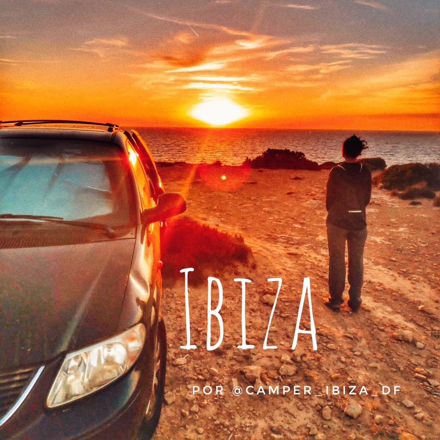 Itinerario intorno all'isola di Ibiza in camper o furgone di @camper_ibiza_df