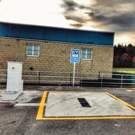 Un supermercado área autocaravanas en España la innovación de masymas