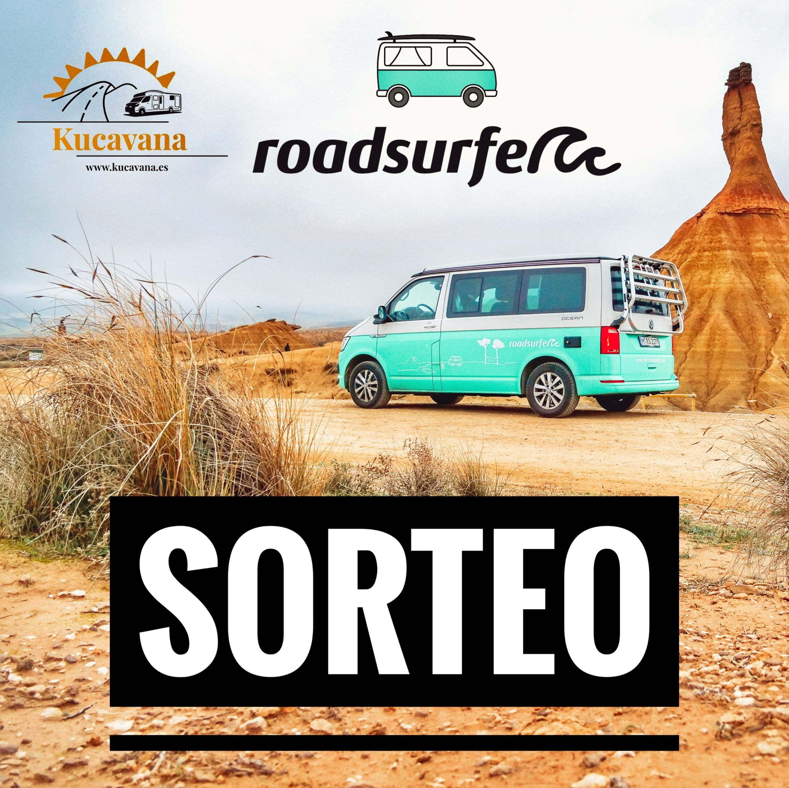 ▷ RAFFLE: 400 euros GRATUIT pour la location d'un camping-car avec Roadsurfer + Service de montage d'itinéraire personnalisé GRATUIT