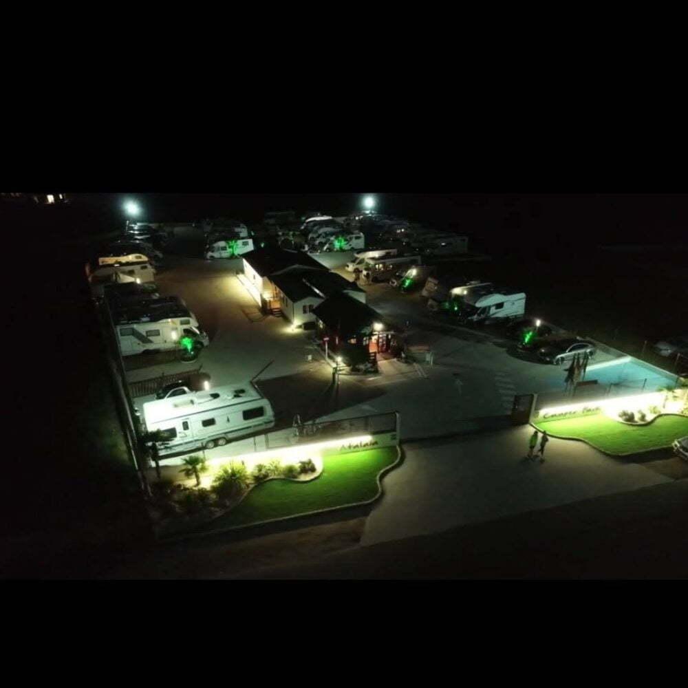 Gebiet Nummer 3, das von spanischen Wohnmobilen am meisten empfohlen wird: Wohnmobilgebiet Atalaya Camper Park in Foz (Galizien)