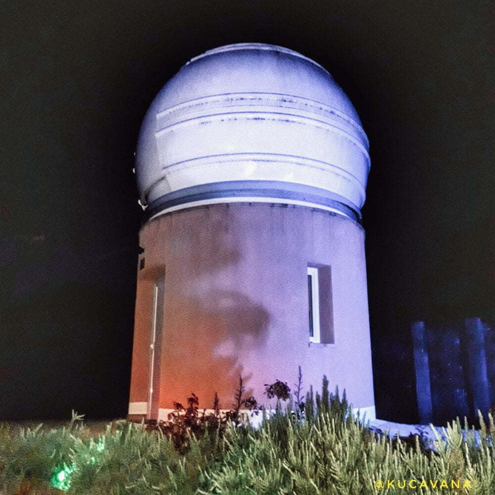 Observatorio estrellas Albanyà