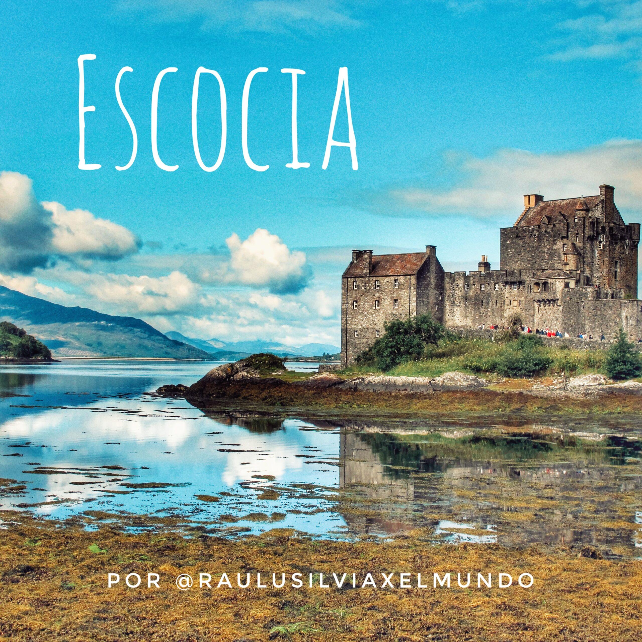 Escocia en autocaravana o camper en 9 etapas por @raulysilviaxelmundo