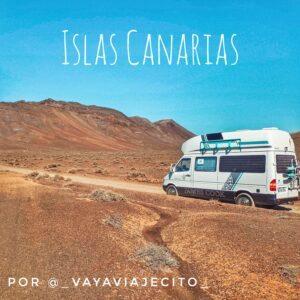 Las Islas Canarias en autocaravana o camper por 4 de sus islas por @_vayaviajecito_