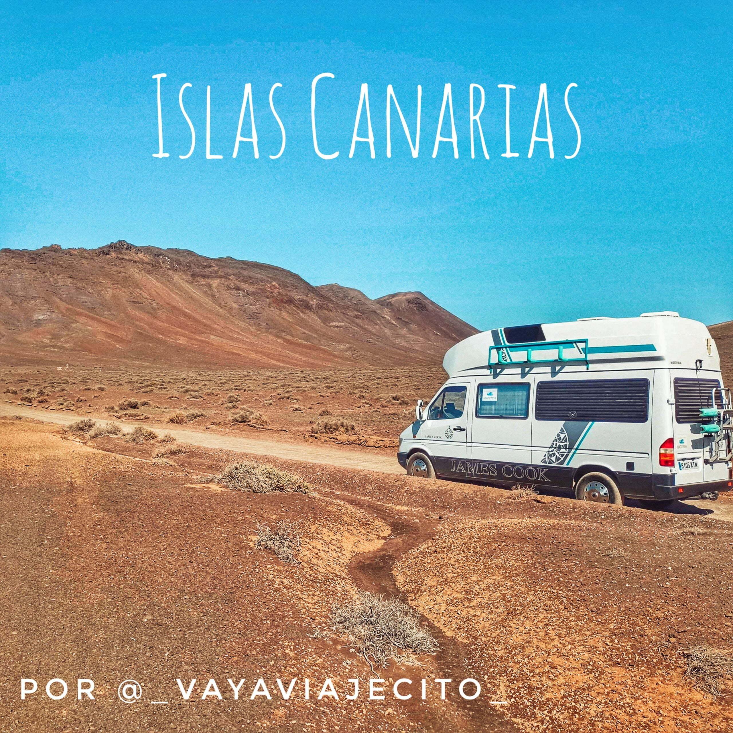 Les îles Canaries en camping-car ou camping-car à travers 4 de ses îles par @_vayaviajecito_