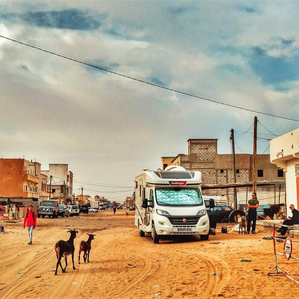 África en autocaravana