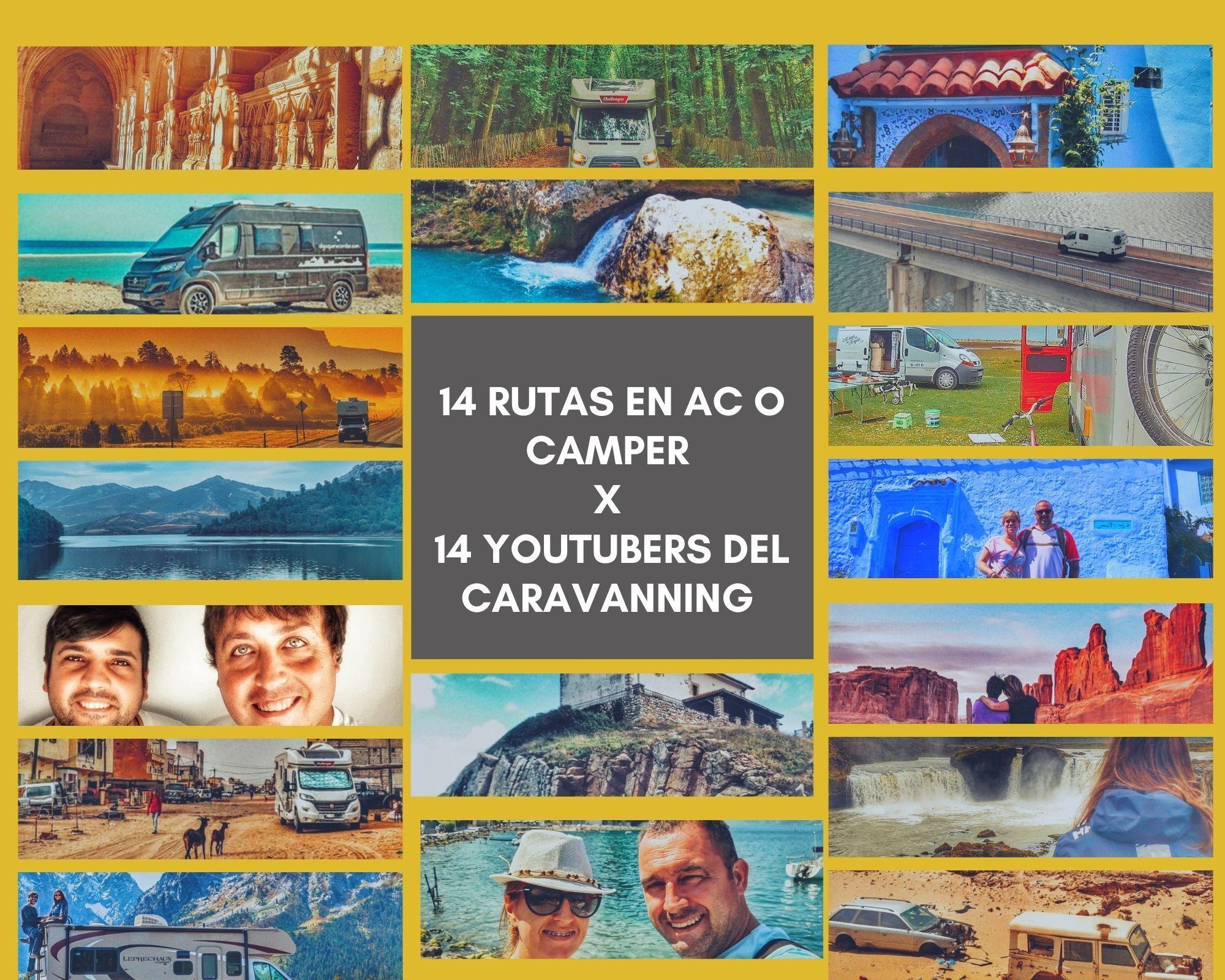 Lee más sobre el artículo 14 rutas en autocaravana o camper por 14 Youtubers del caravanning que nos haran soñar en volver a viajar