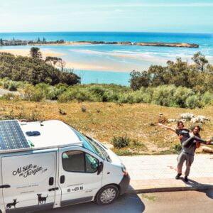 Lire la suite de l'article Côte Atlantique du Maroc en camping-car des youtubeurs Al Son de Mi Furgón
