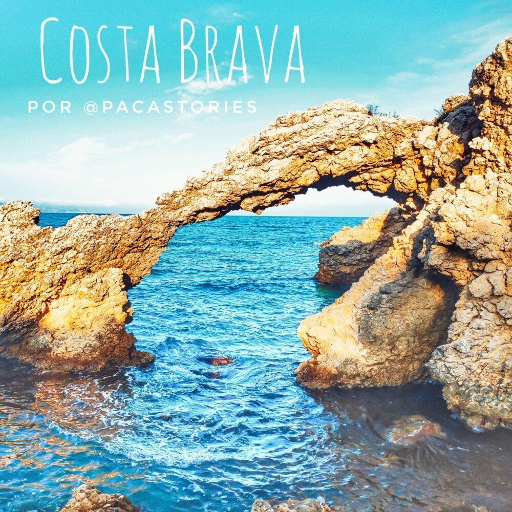 17 destinos increÍbles para descubrir la Costa Brava en autocaravana por los youtubers Paca Stories