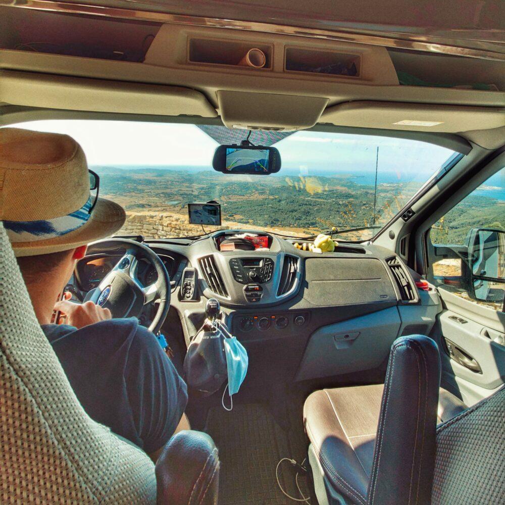El Monte Toro en autocaravana