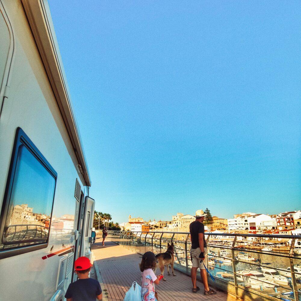 Ciutadella de Menorca en autocaravana