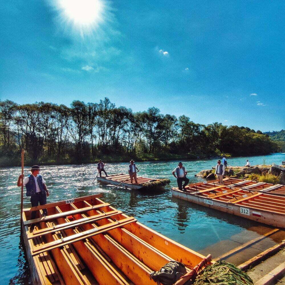 Pieninos, discesa lungo il fiume Dunajec