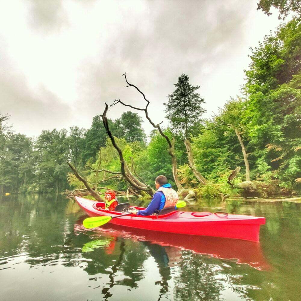 Discesa lungo il fiume Krutynia