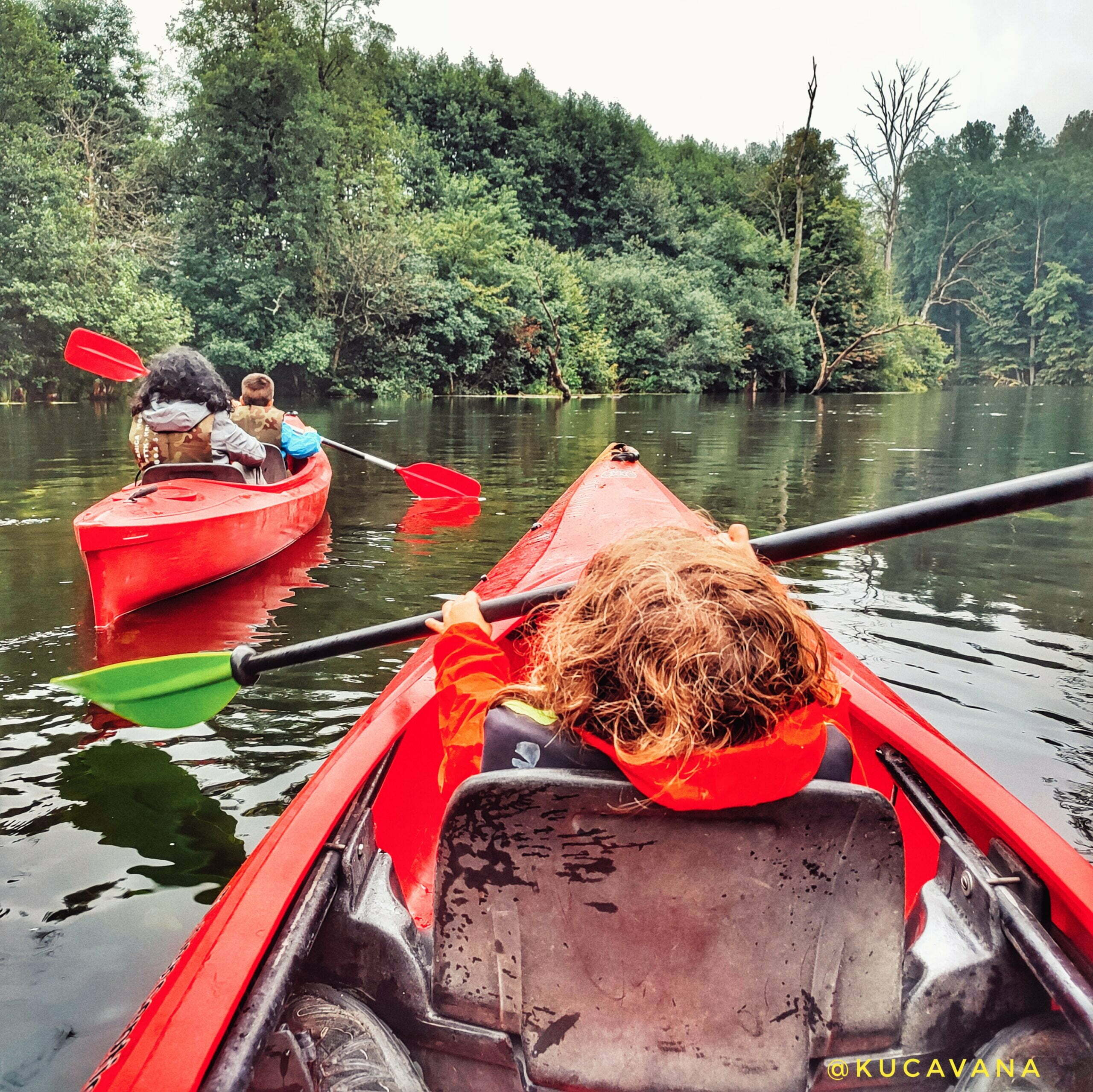 Read more about the article Kayaking on the Krutynia River: a refreshing (and fun) plan