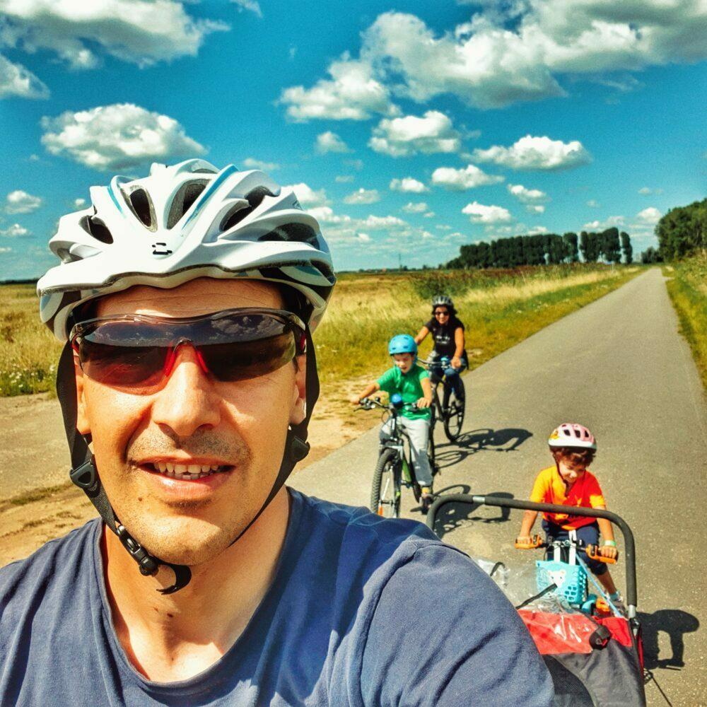 Piste cyclable à travers les Pays-Bas