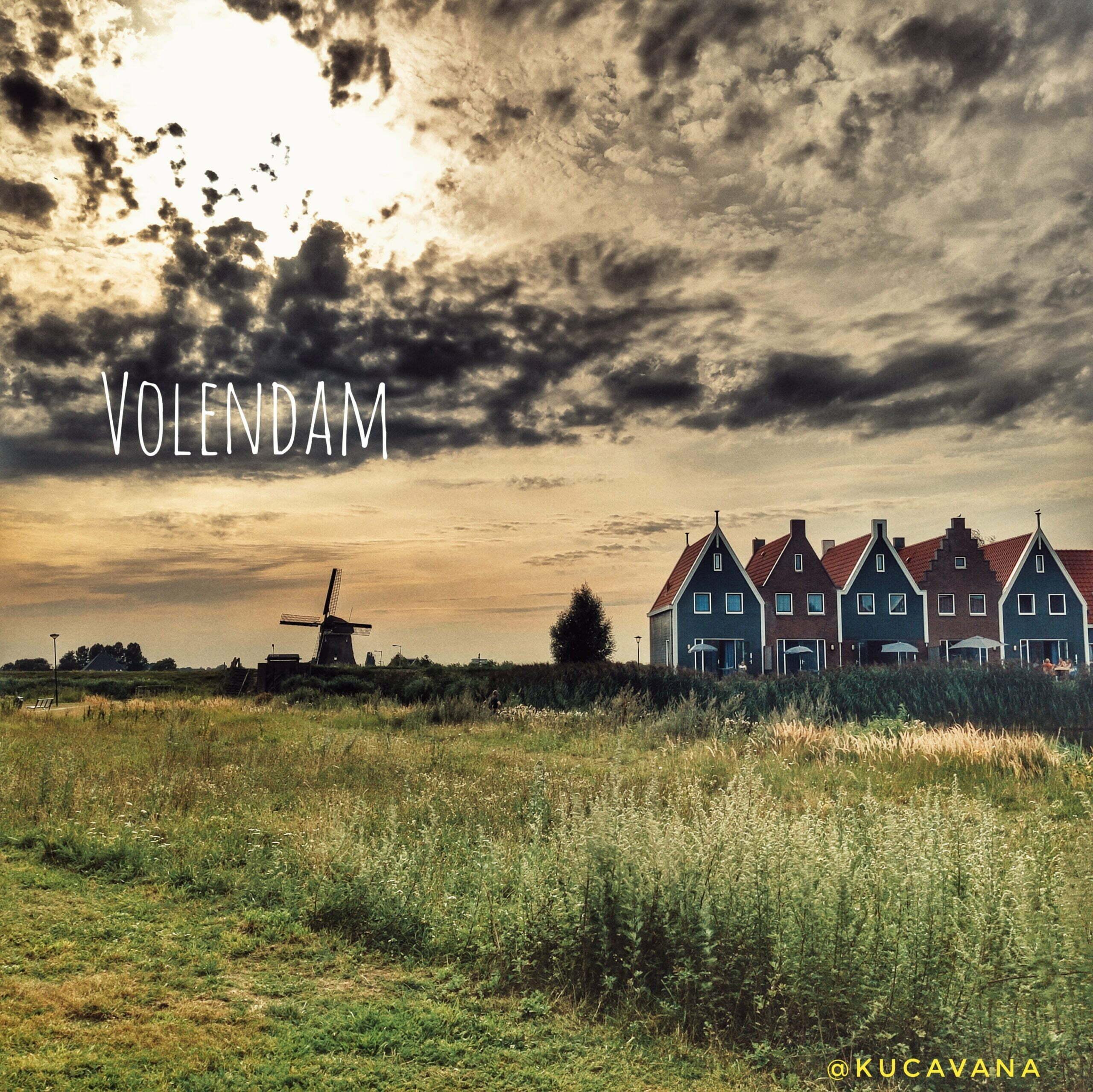 Lire la suite de l'article Volendam, plage et village de pêcheurs