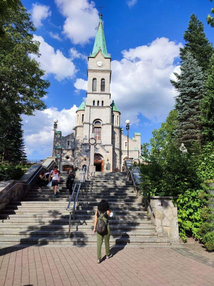 Iglesias de Zakopane en Polonia