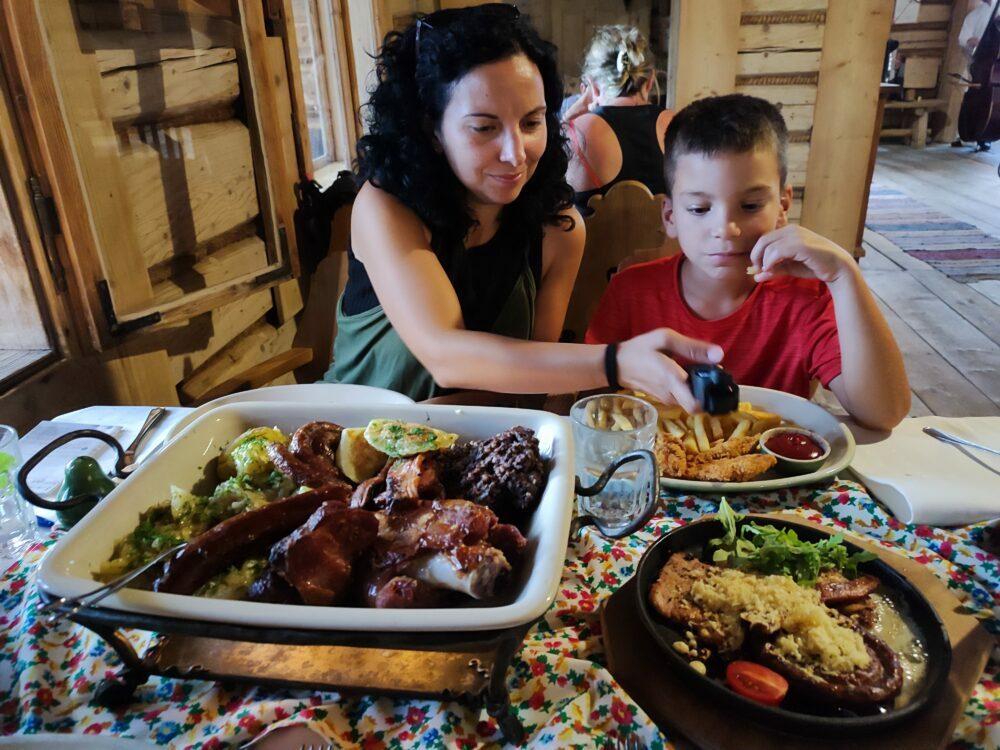 Comida regional en Zakopane