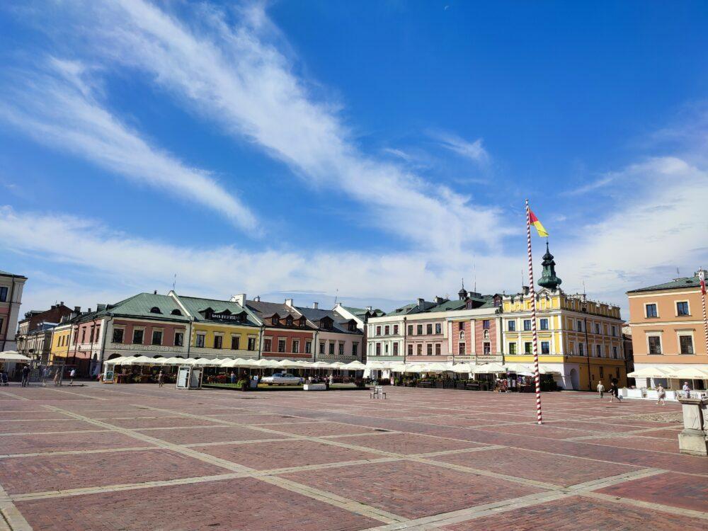 Plaza del mercado de Zamosc