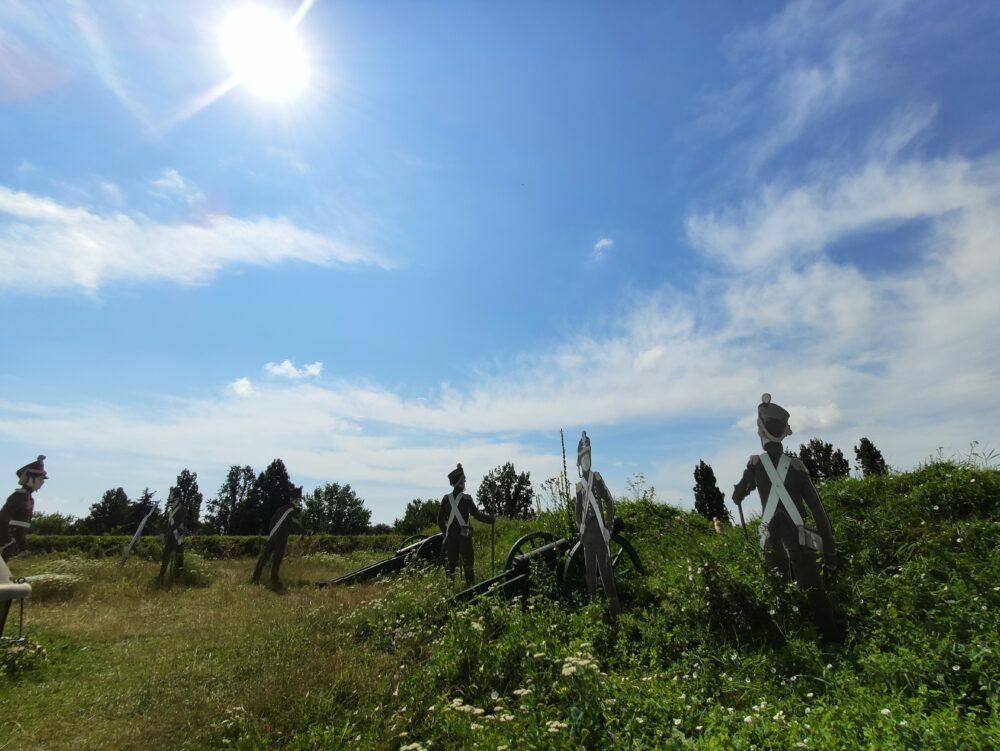Zona de tiro de la Barbacana de Zamosc