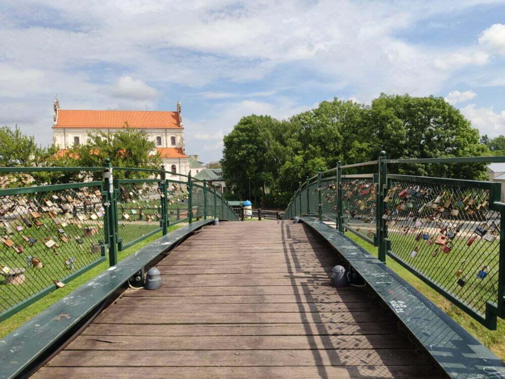 Puente de los enamorados de Zamosc
