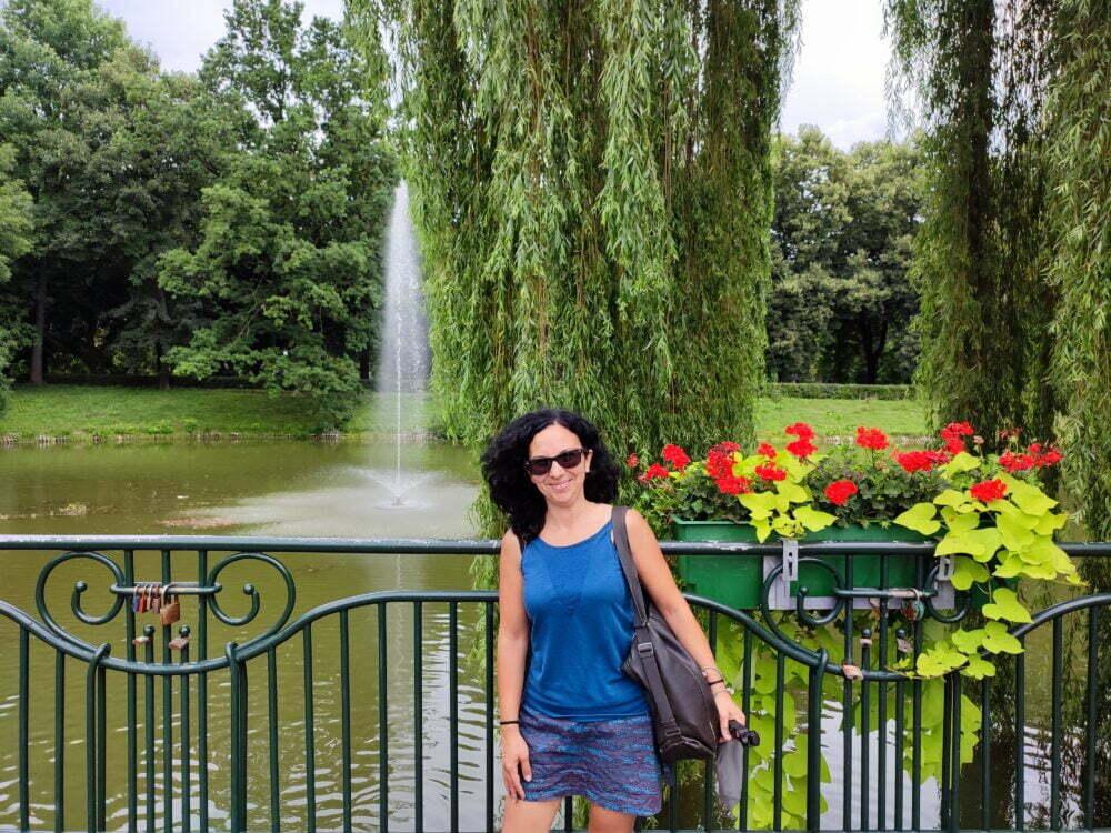 Uno de los parques alrededor de Zamosc