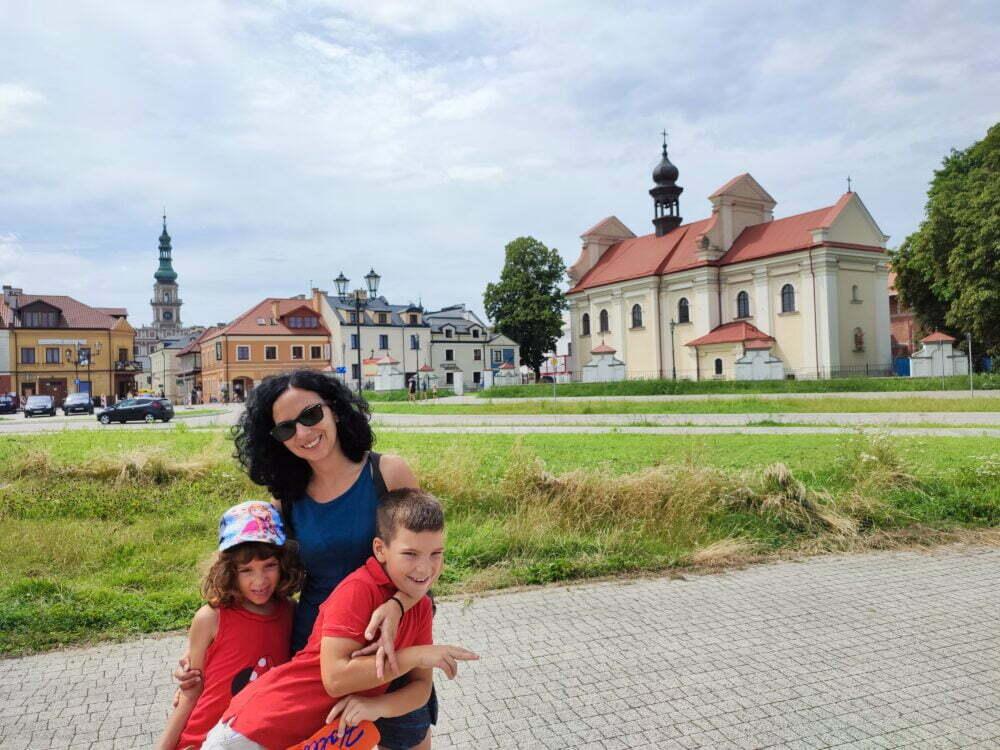 Zamosc ciudad renacentista ideal polaca
