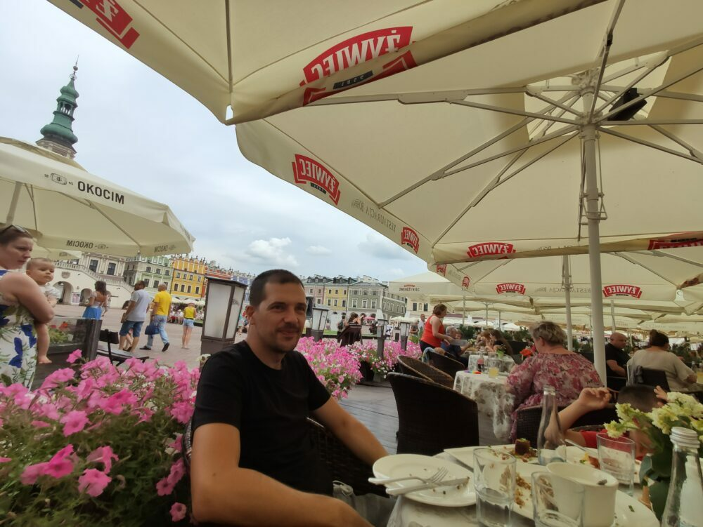 Comer en Zamosc