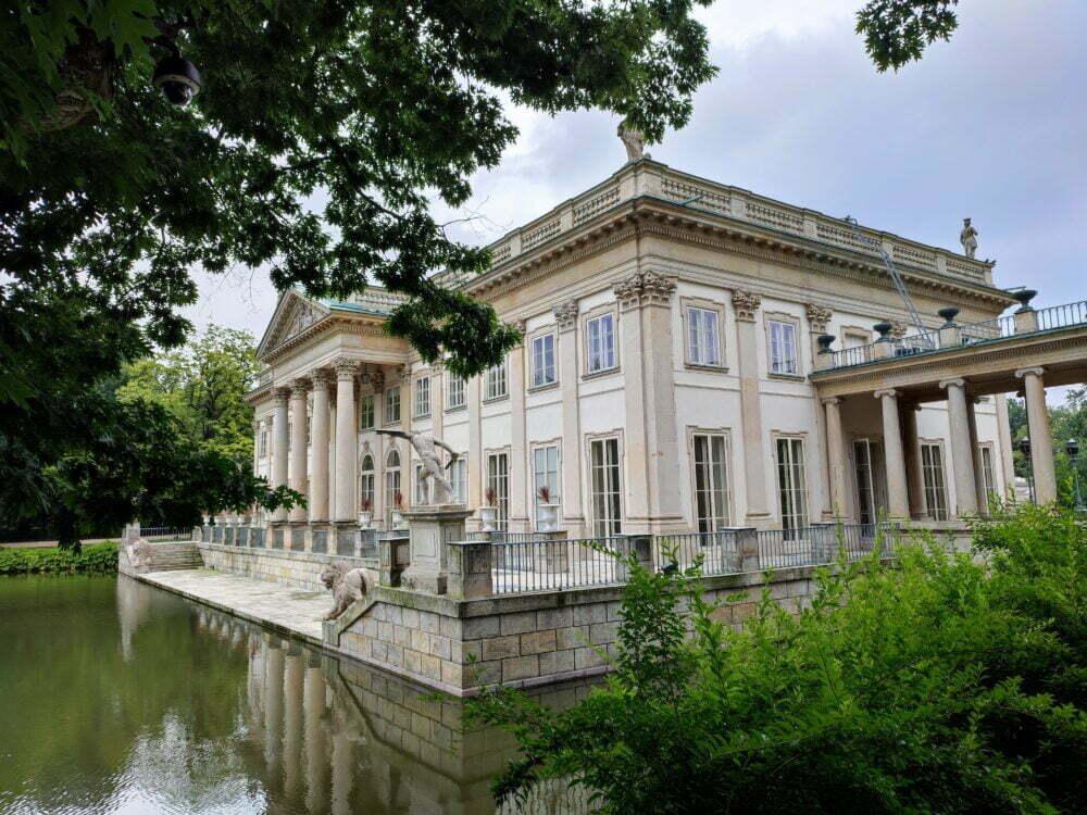 Palacio Real de Vernano en el Parque Real Lazienki de Varsovia