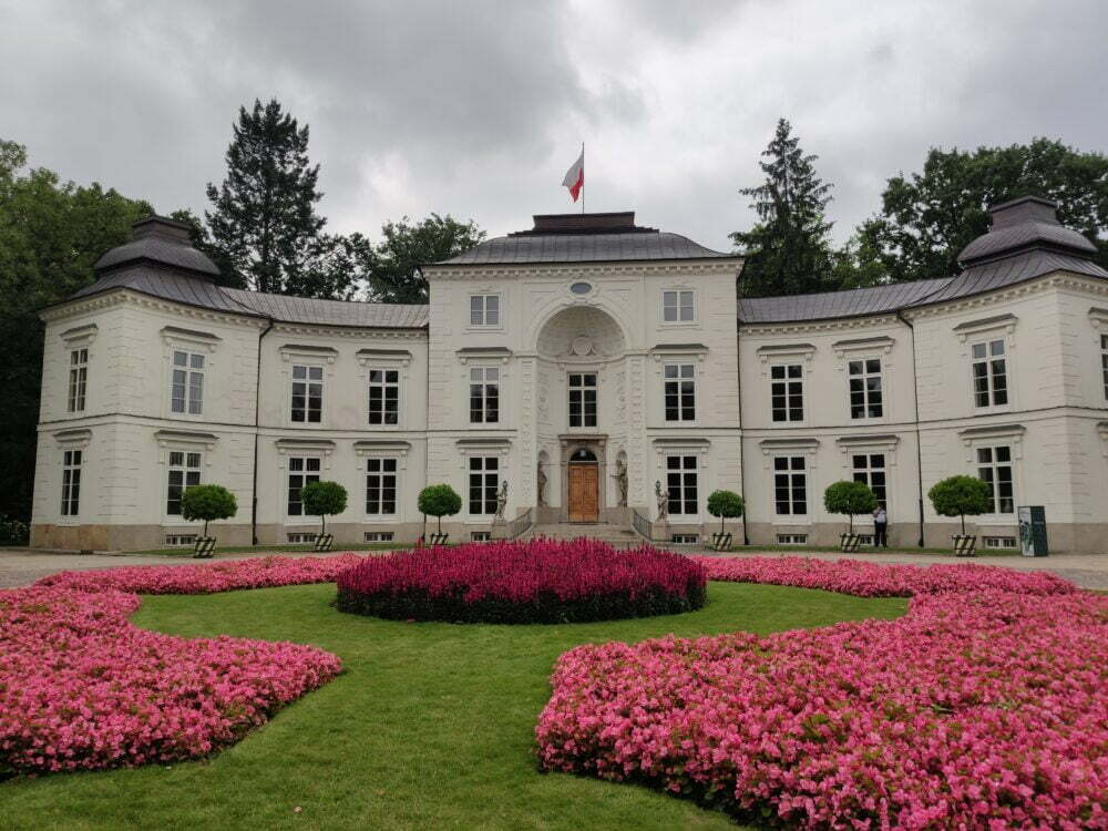 Palacio Real del sobrino del Rey en el Parque Real Lazienki de Varsovia