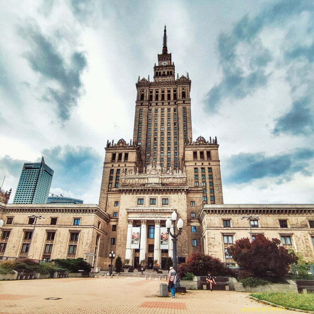 Palacio de la cultura y ciencia de Varsovia de Stalin