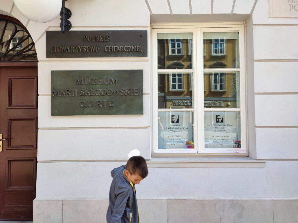 Casa donde nació Marie Curie en Varsovia
