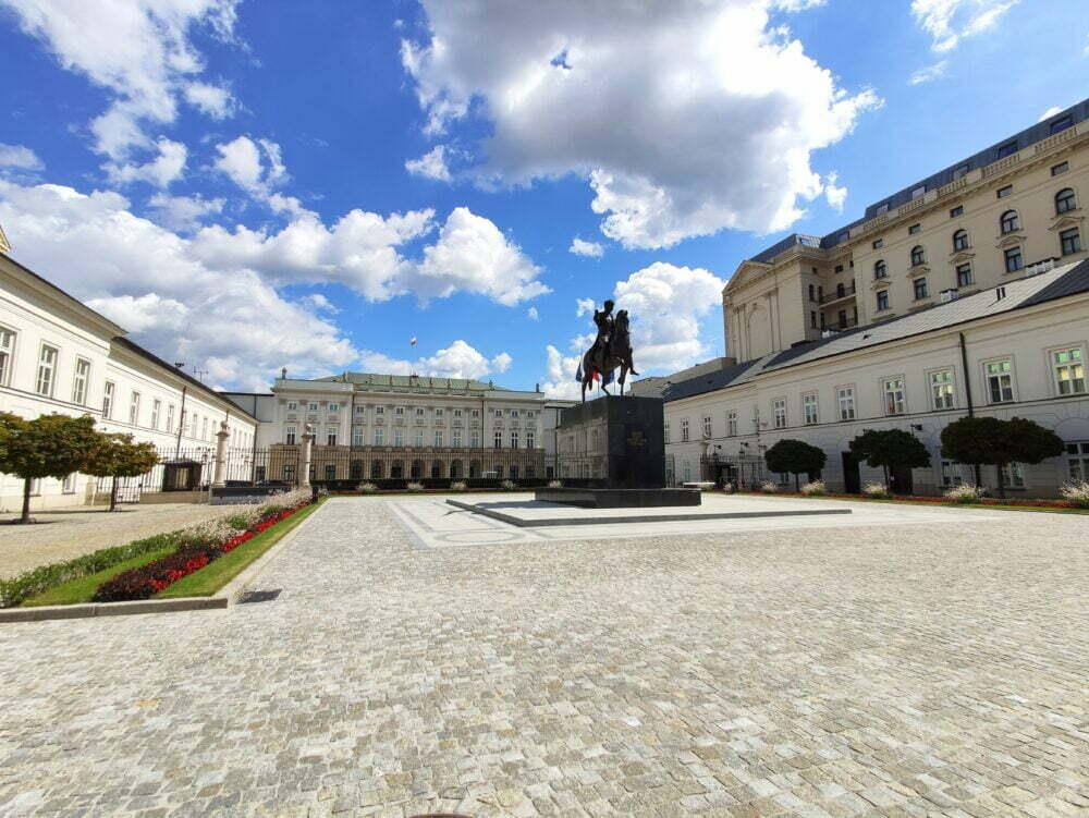 Palacio presidencial Varsovia