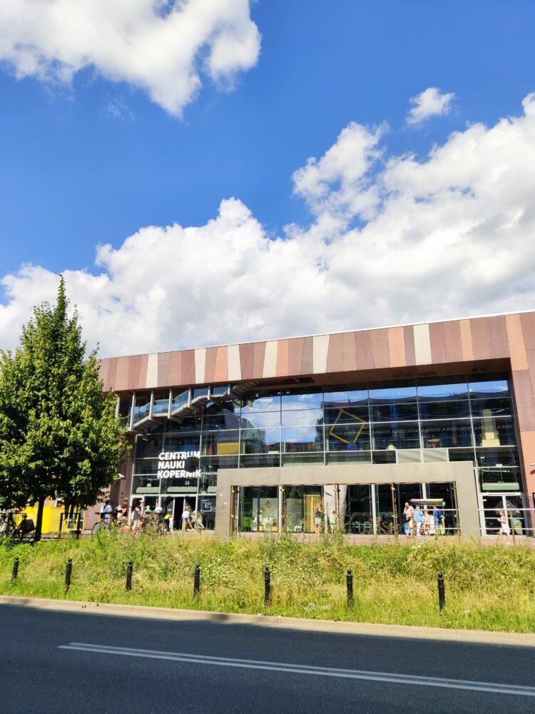 Centro Copérnico de ciencia y tecnología en Varsovia