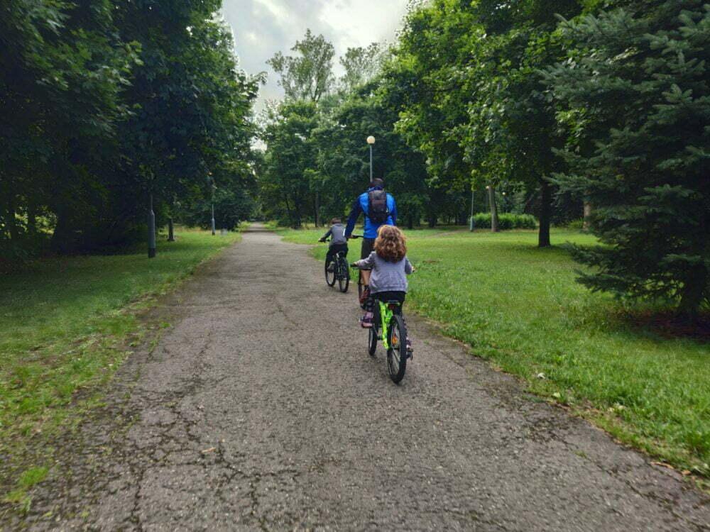Faire du vélo autour de Gdansk en camping-car