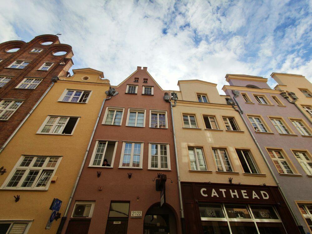 Maisons du long marché de Gdansk