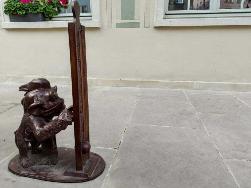 Chiffres symboles que nous trouvons à Gdansk pour les enfants