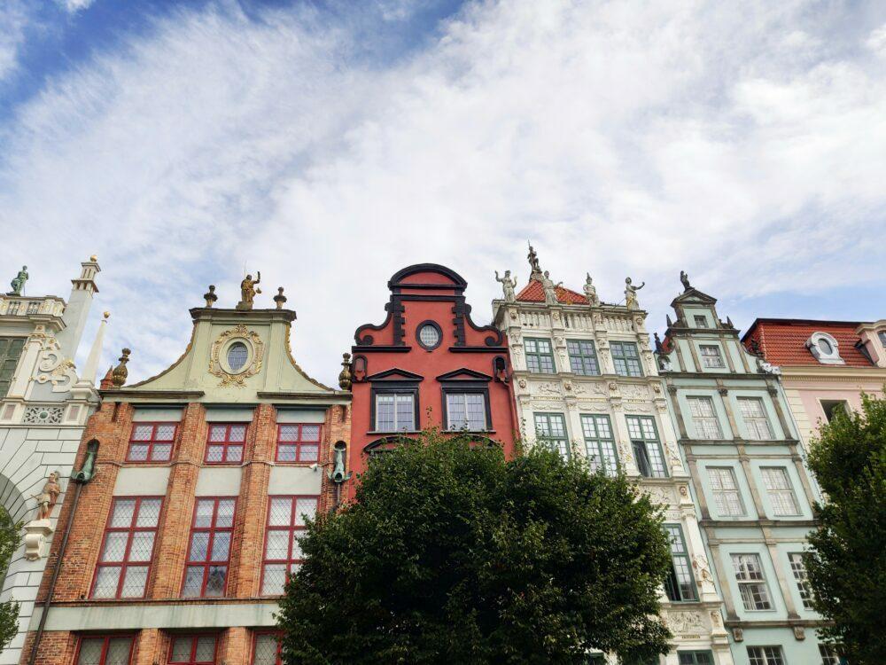 Gdansk maisons avec histoire