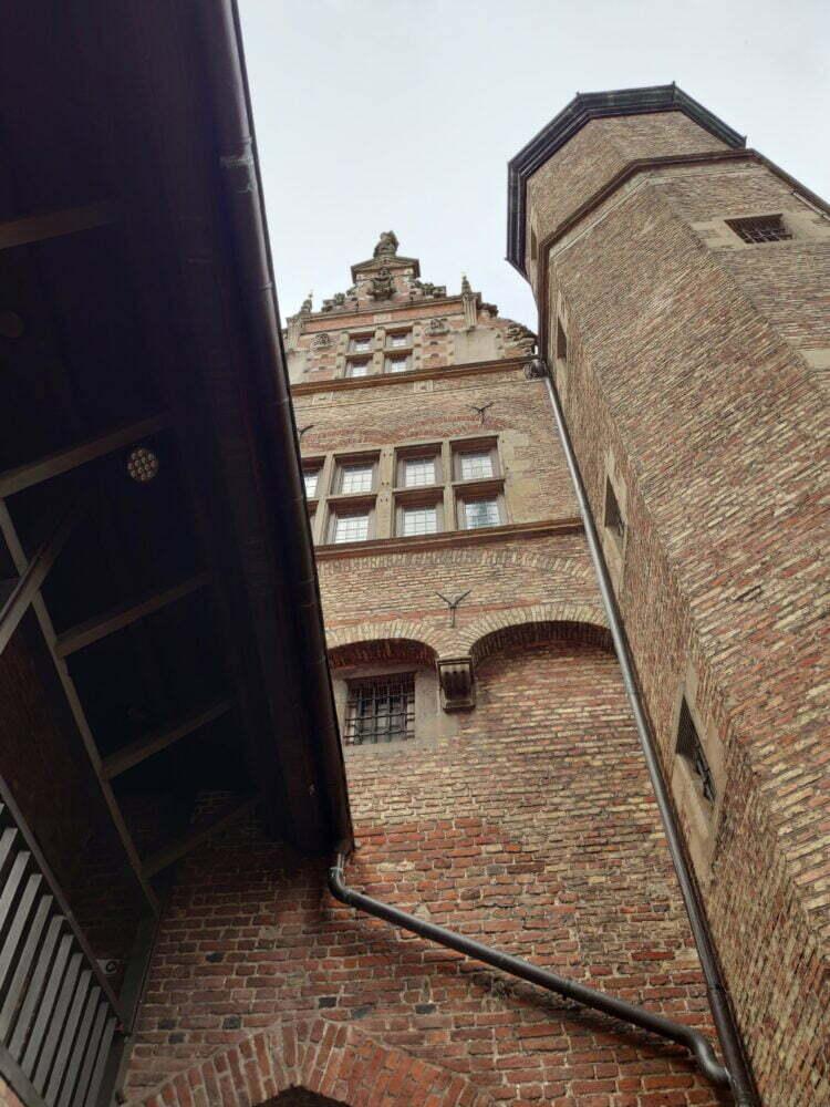 L'ancienne prison de Gdansk