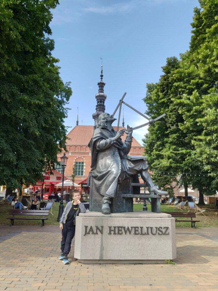sculpture de Hewelius