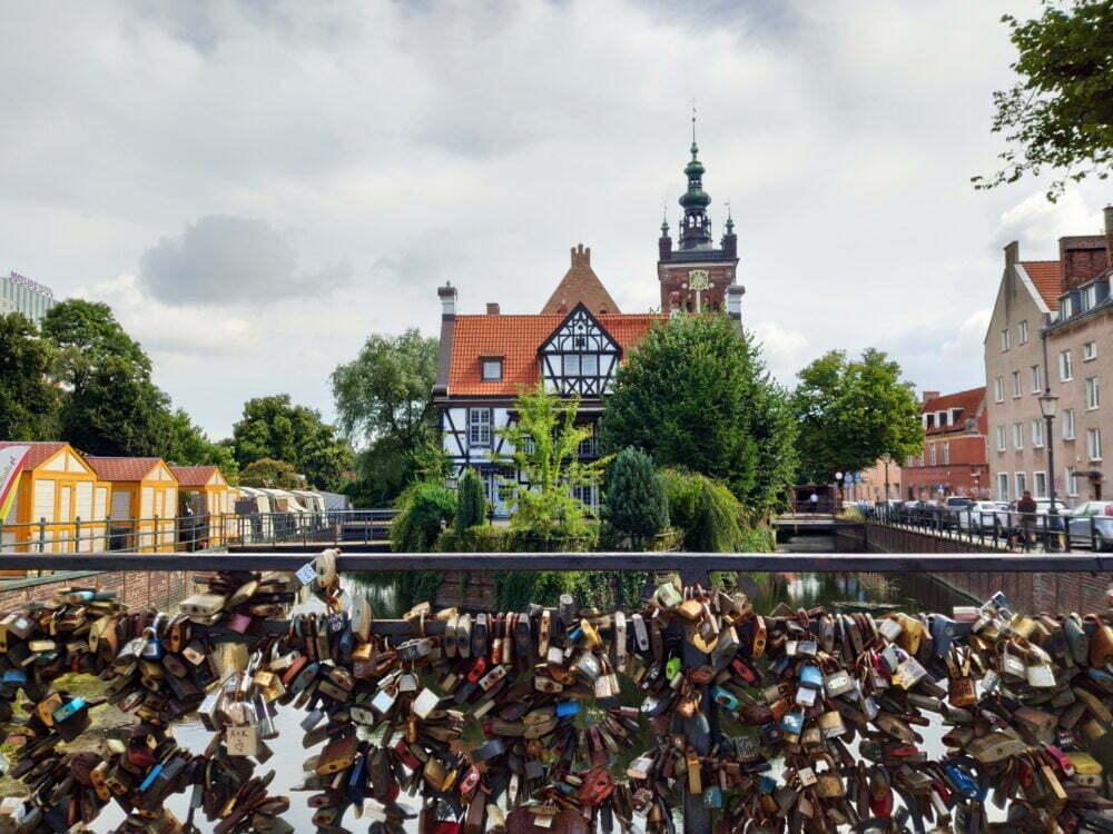 Cadenas d'amour à Gdansk
