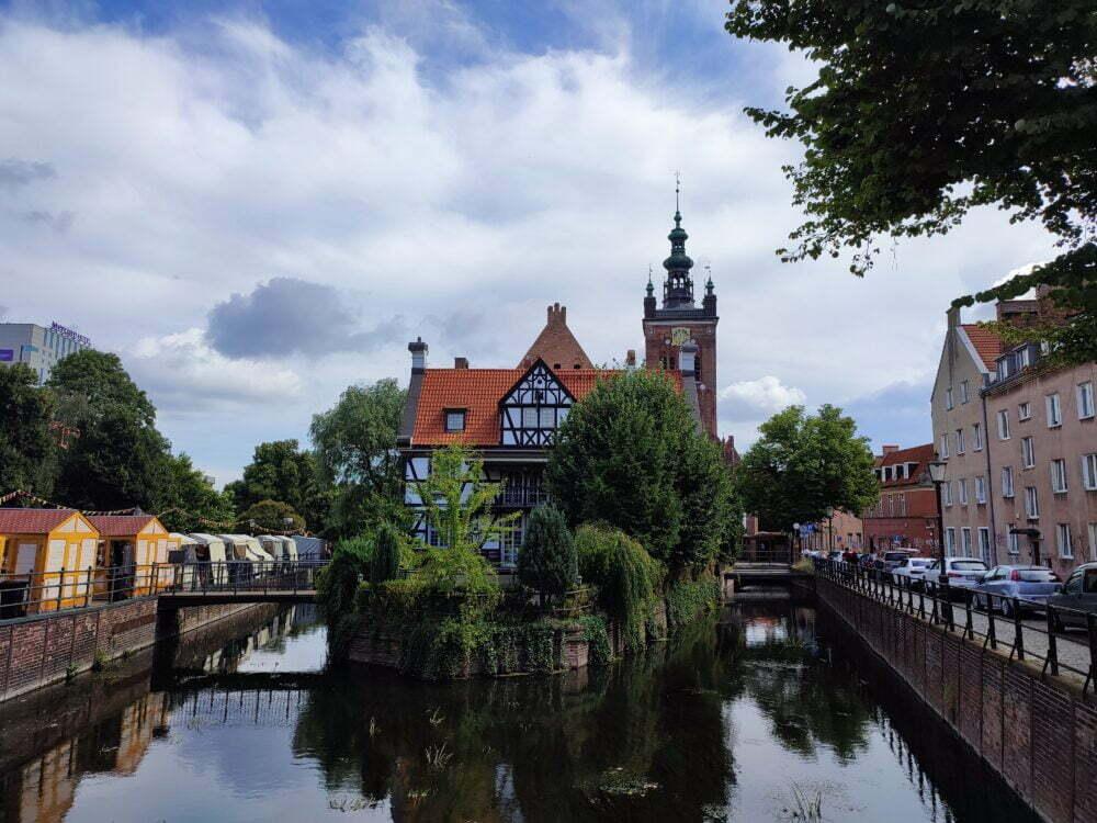 Maisons entre caneles de Gdansk