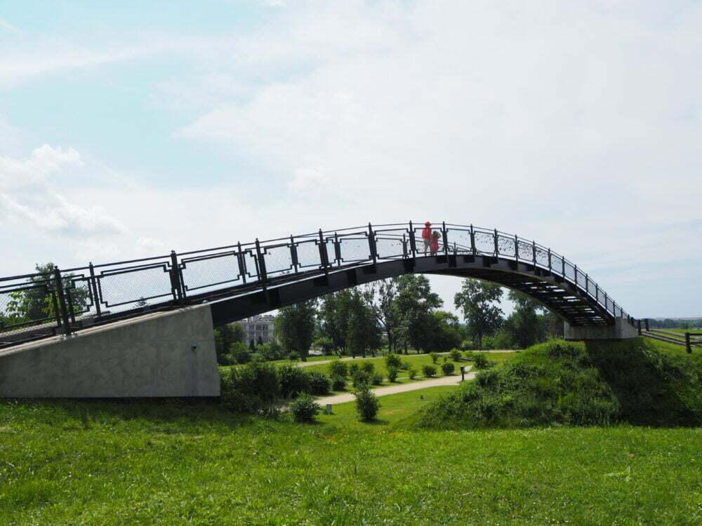 Puentes de los enamorados de Zamosc