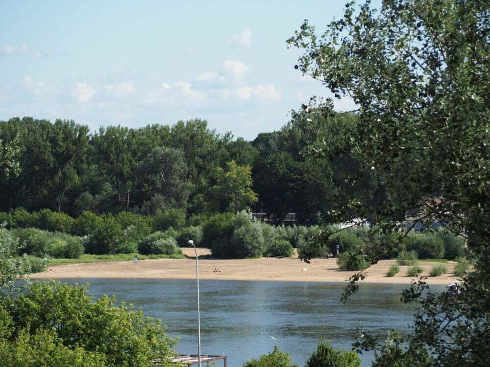 Playas del Rio Vístula en Varsovia