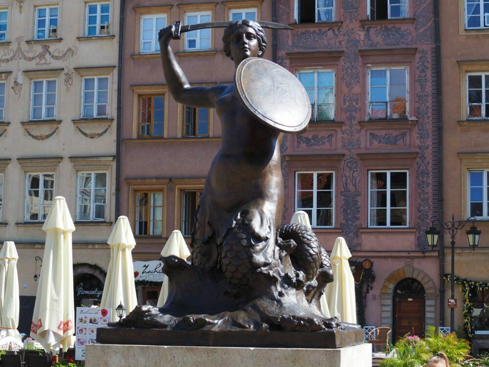 Sierena símbolo de Varsovia