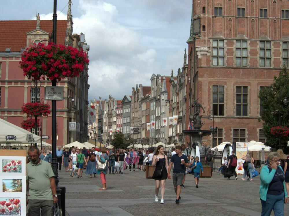 La longue rue de Gdansk