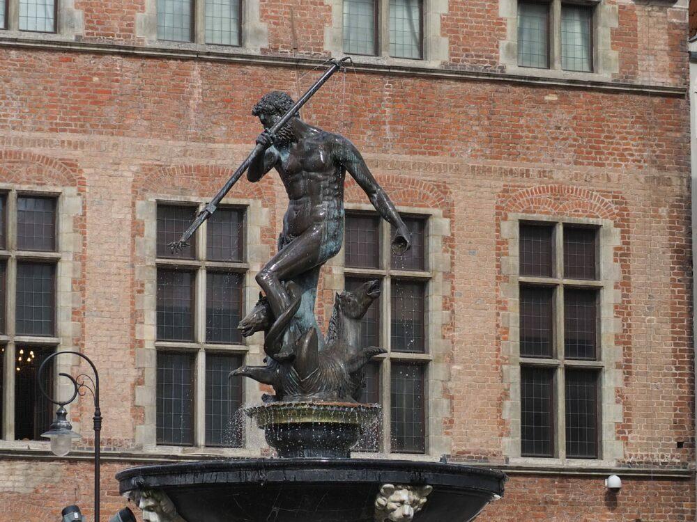 Neptune symbole de Gdansk