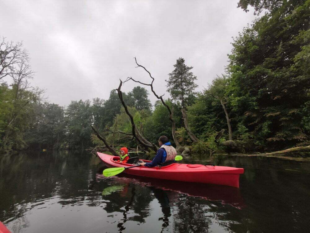 Kayaking Poland down the Krutynia